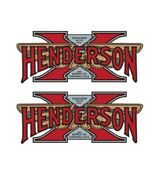 Henderson Excelsior Gas Tank Decals Stickers Set Kit L@@k Fuel Motorcycle Bike