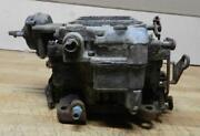 1950and039s Chevrolet V8 Used 4-bbl Wcfb Carburetor 6-1271 0-953 For Parts Only