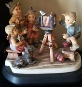 Hummel Figurine Picture Perfect With Base.