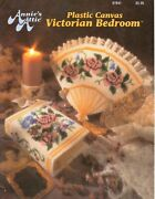 Used Victorian Bedroom Roses Fan Rug Frame Annieand039s Plastic Canvas Pattern Book