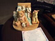 Large Cherished Teddies - Christopher -old Friends Are The Best Friends 7ee2/342