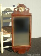 Vintage 1932 French Provincial Country Victorian Gold Eagle Wall Mantle Mirror