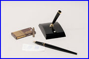 1974 Fountain Pen Deskbase Extremely Rare 70and039s Cartridge Masterpiece