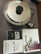 Liquid Core Electric Skillet Made In Usa, Regalware, West Bend Lifetime Cookware