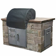 32 Build-in Grill Cover - Shield Gold /color - Charcoal Grey