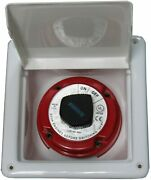 Ssi Recessed Battery Switch Box Covered Enclosed 8andrdquo X 8 1/8andrdquo X 4andrdquo Marine Rv