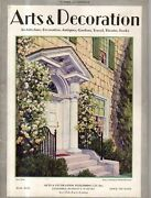 1930 Arts And Decoration June - Houses In Goldens Bridge, Westchester, Ossining Ny