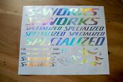 S Works Sl5 Tarmac Specialized Decals Stickers 12 Options-colors On Your Choice