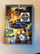 Disney Beauty And The Beast Diamond Edition 3 Disc Blu Ray Dvd Combo Pack - New