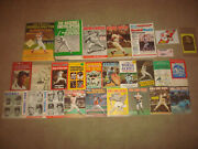 Vintage Baseball Book Lot The Sporting News Official Guide Records World Series
