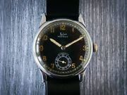 Felco Swiss Watch Military Pilot Wwii Collectible Excellent Working Order