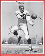 1956 Los Angeles Rams Team Issued 8 X 10 Type 1 Glossy Elroy Hirsch