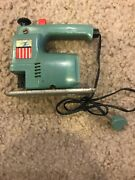 Ideal Toys Vintage Jig Saw - Antique Power Mite Tools Works No Blade