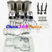 New D902 Overhaul Rebuild Kit For Kubota Engine Bx24 Bx25 Sub Compact Tractor