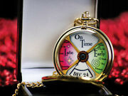 Lionel 9-41027 The Polar Express Conductor Pocket Watch New Never Opened Rare