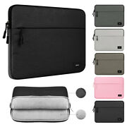 Laptop Sleeve Case Pouch Cover Bag For 11 13 14 15 Hp Dell Lenovo Macbook