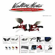 Pey058 Valter Moto Rearsets T2.5 Red Yamaha Yzf-r1 - 2007 2008