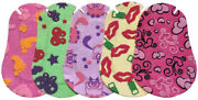 Ortopad Soft Bamboo Girls Eye Patches - Patterns With Textured Accents 50/box