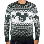 Disney Strickpullover Weihnachts Pullover - Ugly Mickey Christmas Sweater