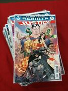 Justice League Rebirth Lot 1 3 5-25 27-29 Good Condition Sleeves And Backs