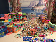 Amazing Littlest Pet Shop Lot 16 Playsets 200+ Animals Minis Rare Mail-ins Nice
