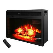 26 Electric Fireplace Wall Mount Heater Flame With Remote Control Christmas