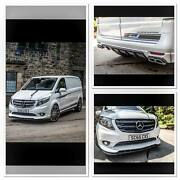 Bodykit For The Mercedes Vito And V Class W447 Made In Plastic