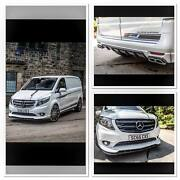 Front Bumper Add On Kit Bodykit For Mercedes V Class And Vito
