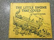 The Little Engine That Could Watty Piper 1961 Edition, Nice Condition