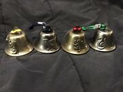 Universal Studios Harry Potter Bell Christmas Ornament New With Tags All Four
