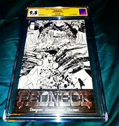 Redneck 1 - Silver Foil Variant Rare - Cgc Ss 9.8 - Signed By Donny Cates 》》》