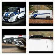 Ford Transit Custom Front Wing Body Style Kit Bumperspoiler Upgrade Conversion