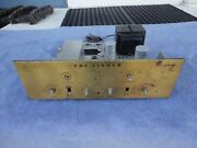 Fisher X-101 Stereo Integrated Tube Amplifier 7189 Output Tubes The 101 Brass