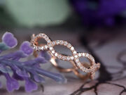 Christmas 1.90ct Natural Round Diamond 14k Solid Rose Gold Cluster Ring