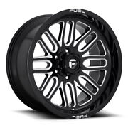 Fuel Ignite D662 Rim 22x12 6x135 Offset -43 Gloss Black And Milled Quantity Of 4