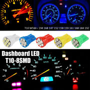 T10 W5w Wedge 1206-8smd Led License Interior Instrument Cluster Light 194 Bulbs