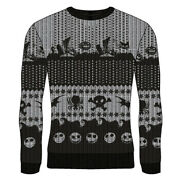 Nightmare Before Christmas Pullover Ugly Christmas Sweater - Symbols