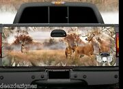Tailgate Wrap White Tail Deer Hunter Wrap Truck Graphics Easy To Apply Wt-001tg