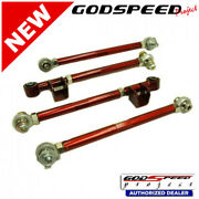 Adjustable Rear Lateral Link Set For Subaru Impreza 2002-2007 Godspeed Ak-010-b