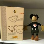 Steiff Old Mickey Mouse Japan Limited To 1000 Only Disney W/ Manual Very Rare