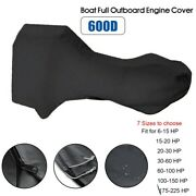 1pc Full Motor Cover Boat Full Outboard Engine Protect Cover For 6 - 225hp Motor