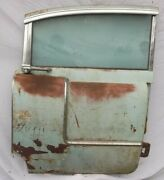 1955 Cadillac Right Side Rear Passenger Door Window Motor Workand039s Surface Rust