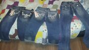 Rock Revival Capris And Pants And 2 Pair Of P413 Jrans Jeans Sizes 24-27