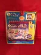 My First Leap Pad Leap Frog Book And Cartridge Leap To The Moon New
