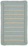 Capel Rugs Boathouse Spa Linen Cross Sewn Country Cottage Coastal Braided Rug