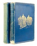 Rudyard Kipling -the Jungle Book And Second- 1st First Edition Macmillan And Co 1894