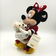 Steiff Minnie Mouse And Duffy Limited 1500 Only Plush Doll Disney World New W/tag