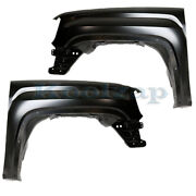 Capa 14-18 Sierra Pickup Truck Front Fender Quarter Panel Left And Right Set Pair