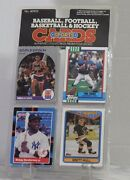 Authentic Collectibles Trading Cards 1990 Football Baseball Hockey Basketball