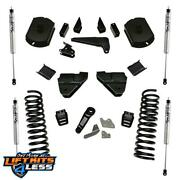 Superlift K124f 4and039and039 Lift Kit W/ Fox Shocks For 2014-18 Dodge/ram 2500 4wd Diesel